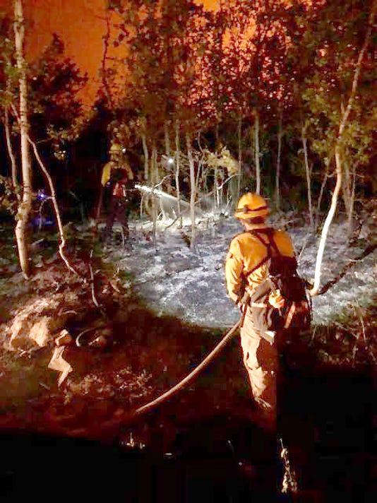 416 Fire crews Durango, Colorado