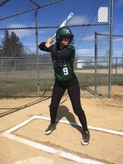 Kinnelon senior softball standout Alexa Saccomanno was named to the All-Group 2 Third Team this past spring.