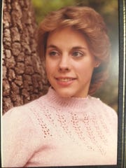 Suanne Colegrove's senior portrait in high school.