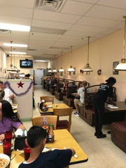 Grandpa's Diner in Port St. Lucie gets a steady stream of customers.