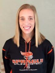 Sprague girls basketball coach Jami Morris was an assistant