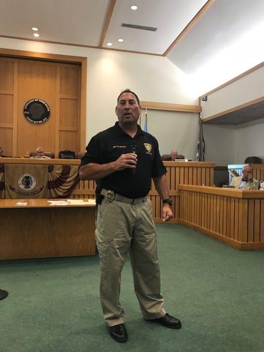 Toms River Police Detective Mark Bajada