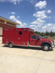 The Westland Fire Department recently purchased this 2018 F-450 Type 1 rescue vehicle.