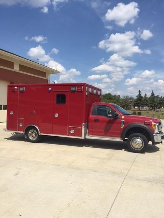 WSD fire truck