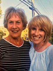 Sandra Gresham and her daughter, Stacy Robitaille, on an annual summer trip to Ogunquit, Maine.