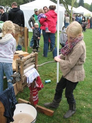 Youths can learn about how their ancestors lived at the Newark Valley Apple Festival.