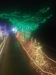 The Connelly Holiday Light Display