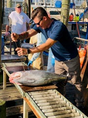 Chef Christian Graciano of Salt Seafood and Oyster