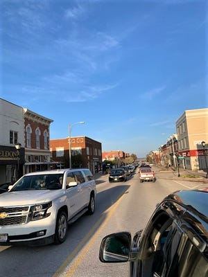 Cruising is back along Central Avenue in Nebraska City on Saturday nights, starting at 7 p.m.