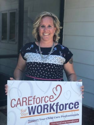 "During the pandemic, the agency created a number of ""CareForce for the WorkForce"" signs and later delivered those out to child care providers throughout both Boone and Story County."
