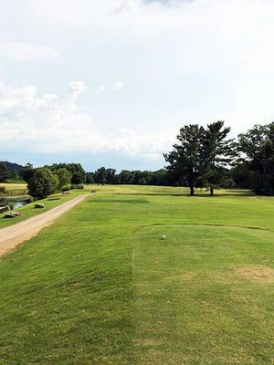 A look at Stoneybrook's par-4 11th hole. Stoneybrook has been closed since March 17 because of the coronavirus pandemic, the only one of Maury County's four golf courses to cease operations during the viral outbreak.