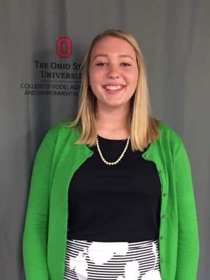Natalia Kresic, daughter of Matt and Windi Kresic of Lordstown, recently was appointed to the Ohio State Fair Junior Fair Board.