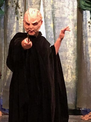 """Austin Kurtz plays the Dark Lord in the Children's Theatre and LJHS comedy """"Puffs"""". The comedy opensJuly 15 and runs through July 18 at 7 p.m. Seating is limited. Contact a cast member or call 384-5111to reserve your ticket today!"""