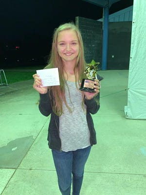 Pictured is Lacy Mihaelvich, winner of the United Way of Northeast Missouri's virtual talent show.