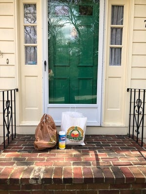 The Acton-Boxborough chapter of Neighbor Brigade assists over 20 clients each week by grocery shopping, picking up prescriptions, and delivering meals.