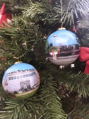 The Franklin Historical Museum, 80 W. Central St., is reopening on a limited basis on Sundays. It has added two new, town-themed Christmas ornaments to its gift shop.