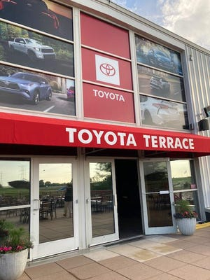 Anderson Toyota of Loves Park, Chicago Region Toyota Dealers Association, and the Rockford Park District have partnered to open Toyota Terrace at the Mercyhealth Sportscore Two center in Loves Park.