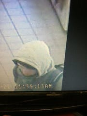 Winooski Police are searching for a man they say robbed