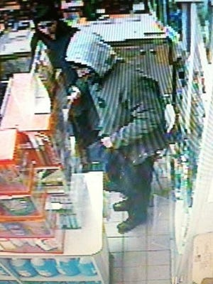 Winooski Police are searching for a man they say robbed Simon's Store on Main Street early Sunday afternoon.