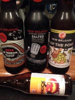 New Belgium's fall winners, including Salted Belgian Chocolate Stout