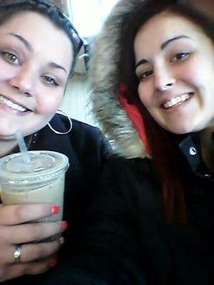 Sara, left, and Nicole Szyskowski were in a devastating accident in Garden City.