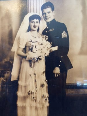 Jean and Earl Balyeat recently celebrated their 70th wedding anniversary. The couple has 12 children and more than 100 descendants including grandchildren and great-grandchildren.