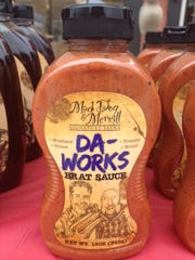 Da Works Brat Sauce, a concoction of ketchup, mustard, onions and kraut, is the top seller.