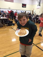 Jefferson students and their families participated in technology stations and other fun-filled activities Jan. 27 at Jefferson Elementary School's Technology Family Night. Uncle Pancake flipped hot cakes as part of an all-you-can-eat meal.