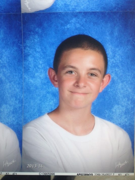 Richard Felzien,12, of Desert Hot Springs has been missing since Friday.  (Photo: Desert Hot Springs Police Department. )