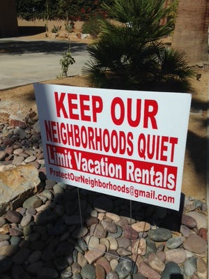 Protect Our Neighborhoods, a Palm Springs collection of homeowners wanting increased oversight, and possibly restrictions on vacation rentals, has launched a website to more effectively communicate its message.