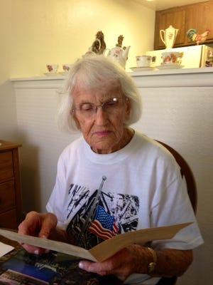 Zona Mae McAdams Shepherd, 95, is the oldest living graduate of Chandler High.