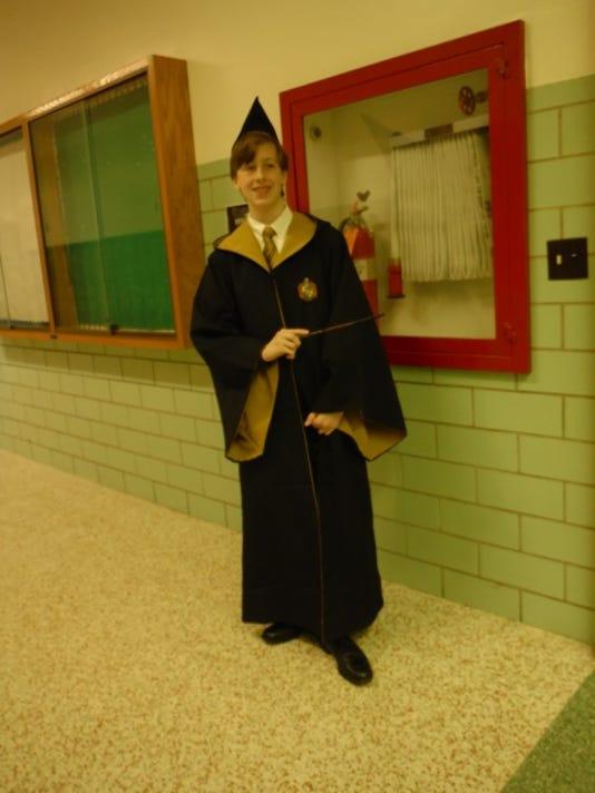 Random Person in Harry Potter Costume.JPG