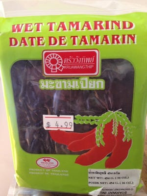 There once was a reason why I bought wet tamarind. If I could only remember why.