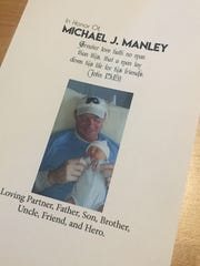 Michael J. Manley was posthumously awarded the Carnegie Medal on Saturday before family and friends.