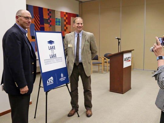 Lakeshore Technical College President Michael Lanser,