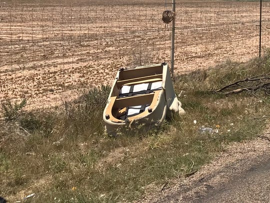 Tom Green County Judge Steve Floyd said illegal dumping is an ongoing problem, and East 50th Street has always been a target, due to its proximity to the landfill.