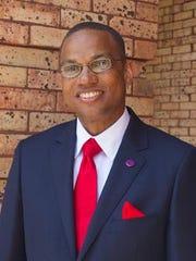 Lane president Dr. Logan Hampton