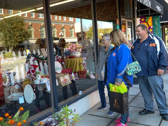 Small Shopping in downtown Anderson