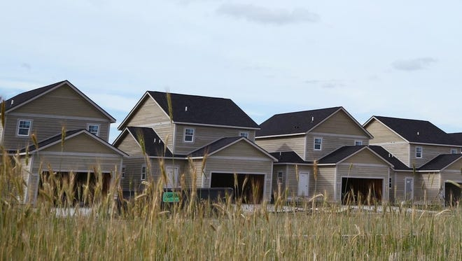 Houses continue to be built in the Prairie Trail subdivision in Ankeny.