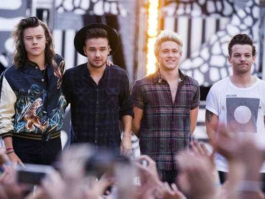 Niall Horan, Louis Tomlinson, Harry Styles, Liam Payne