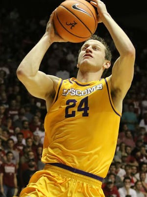 Lipscomb's Garrison Mathews is averaging 23.3 points per game, which is ninth nationally.