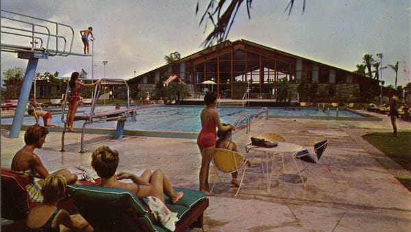 The Youth Club, a $72,000, stand-alone facility at the new Cape Coral Yacht & Racquet Club opened in 1962.