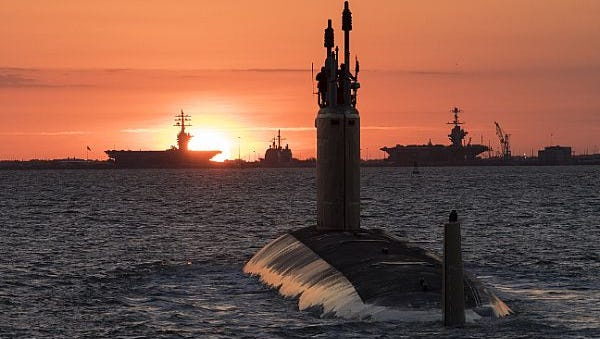 NEWPORT NEWS, Va. (May 27, 2017) An undated photo of the future USS Washington (SSN 787). The Navy accepted delivery of the 14th submarine of the Virginia-class on May 26.