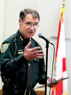 Wakulla County Sheriff Charlie Creel