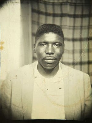 A photograph of Jimmie Lee Jackson, who was killed by an Alabama state trooper on Feb. 18, 1965.