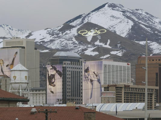 Salt Lake Skyline
