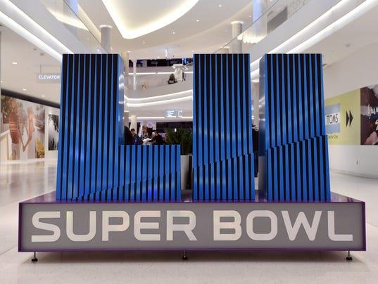 USP NFL: SUPER BOWL LII-CITY SCENES S FBN USA MN