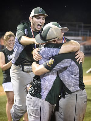 The Fredericksburg Legion baseball team had a lot to celebrate this season, winning the Lebanon County and Region 4 titles before its season came to an end Wednesday in the state tournament with a 10-6 loss to Wesleyville in 13 innings.