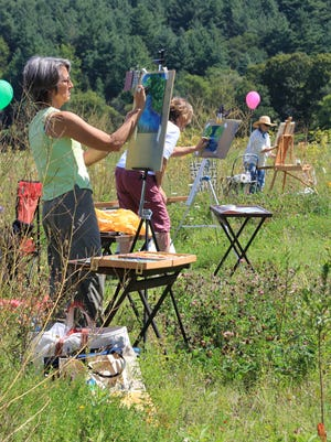 Great Vermont Plein Air Paint-Out 2013