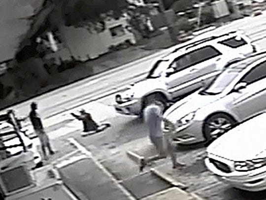 In this July 19 file frame from surveillance video